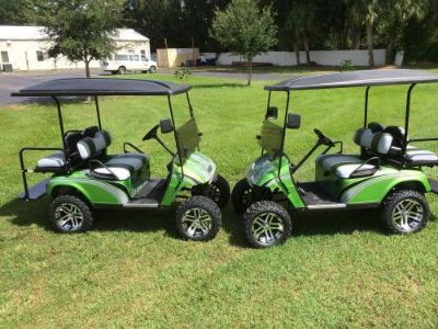 Buy Custom Painted Golf Cart Body and Matching Seat Covers..Body and Covers ONLY motorcycle in Clearwater, Florida, United States, for US $750.00