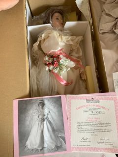 Ashton Drake 1990 s bride doll Lisa