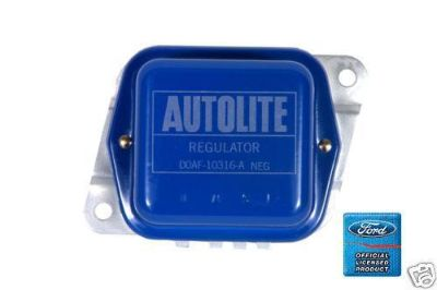 Purchase 1970-1971 MUSTANG BLUE w/AUTOLITE VOLTAGE REGULATOR motorcycle in Manchester, Connecticut, US, for US $34.95
