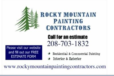 Exterior Painting 🦌 Rocky Mountain Painting 🦌 FREE ESTIMATES