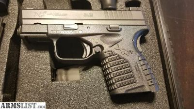 For Sale/Trade: -Priced to sell- XD-S .45 w/Night Sight + Extras