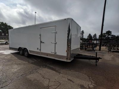 8.5x24 Continental Cargo Loaded Enclosed Trailer 10K GVWR