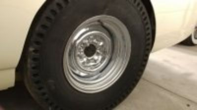 Chrome reversed wheels (pair)