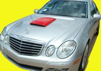 Sell Mercedes E-Class Primer Hood Scoop w/ ABS Plastic Grill motorcycle in Grand Prairie, Texas, US, for US $99.99