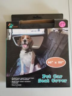 Brand new pet car seat cover 46 X 55.