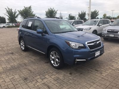 2018 Subaru Forester 2.5i Touring (Quartz Blue Pearl)