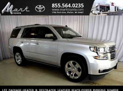 2015 Chevrolet Tahoe LTZ 4X4 w/Heated & Ventilated Leather Seats, Moonroof