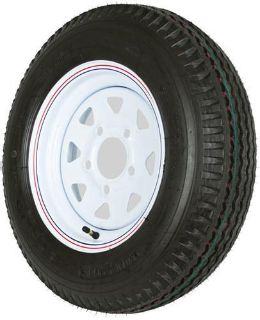 Buy 4.80 x 12 WHITE 5 BOLT TRAILER WHEEL-RIM + KENDA LOADSTAR TIRE-480 WHEEL-4.80X12 motorcycle in West Bend, Wisconsin, US, for US $54.45