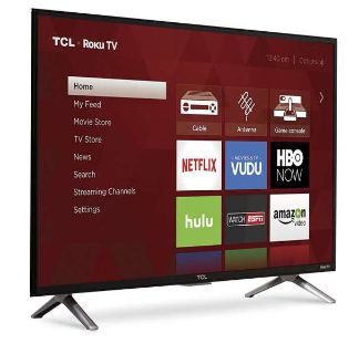 (BRAND NEW) TCL 32S305 32-Inch 720p Roku Smart LED TV (2017 Model)