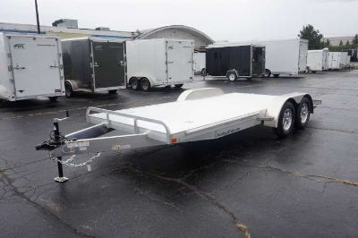 8.5' x 18' All Aluminum Open Car Hauler