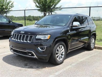 2014 Jeep Grand Cherokee Overland (BLACK)