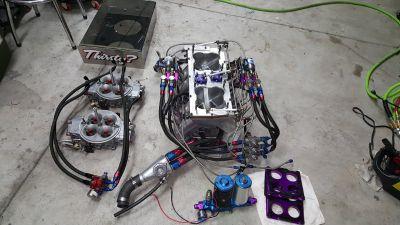 Sonnys sheetmetal intake with 3 kits