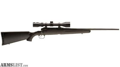 For Sale: Factory new Savage Axis XP 6.5Creedmoor with 3-9x40 scope