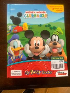 Mickey Mouse clubhouse book/figurines
