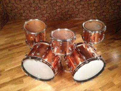$1,500 OBO Slingerland Vintage Copper Over Wood 5 piece drumkit