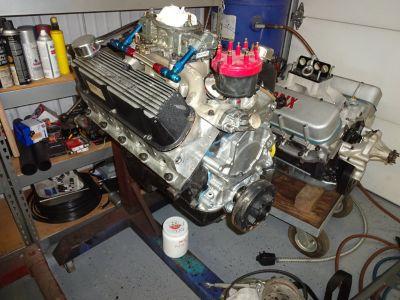 306 CID Ford Aluminum Head Roller Motor