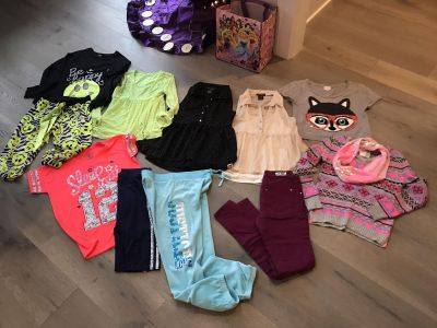 12 piece Lot of girls size 14