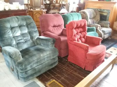 Recliners $30 each