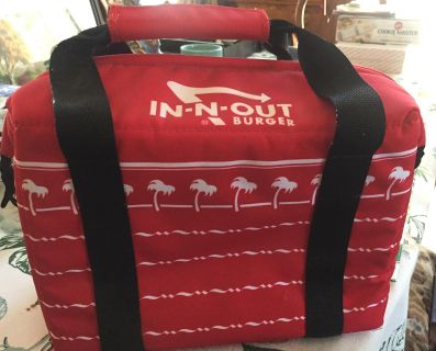In N Out Soft-sided Cooler - NEW