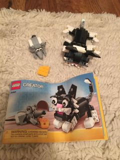 Cat and Mouse Lego