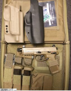 For Sale/Trade: Fnx45 tactical fde.