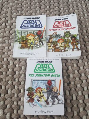 Star Wars Jefi Academy Lot of 3 Books