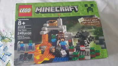 Lego minecraft the cave new