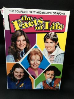 The Facts of Life Complete First and Second Seasons DVD