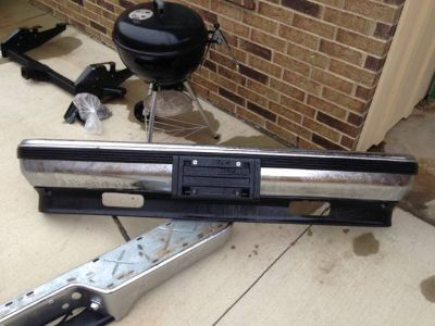 1998 Chevy  Front and Rear Bumpers