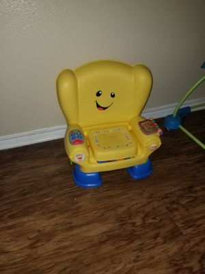 Used infant learning chair