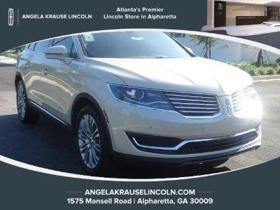 2018 Lincoln MKX Reserve (Ivory Pearl Metallic Tri-Coat)