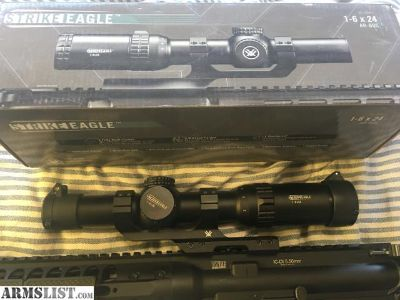 For Sale: Vortex Strike Eagle 1x6x24 AR-BDC scope