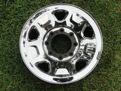 "Find 18"" FACTORY OEM 2005-2010 FORD F250SD F350SD CHROME/STEEL WHEEL RIM 3602 motorcycle in Beverly Hills, California, US, for US $69.99"