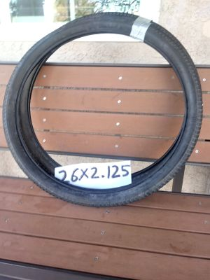 Mountain bike tires size 26x 2.125