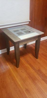 Custom Solid Wood End Table