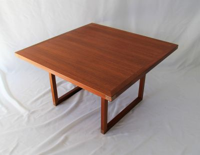 Danish Teak Coffee Table by Rud Thygesen, Mobler