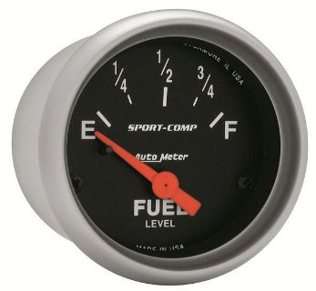 "Purchase Auto Meter 3314 Sport Comp 2 1/16"" Electric Fuel Level Gauge motorcycle in Greenville, Wisconsin, US, for US $60.92"