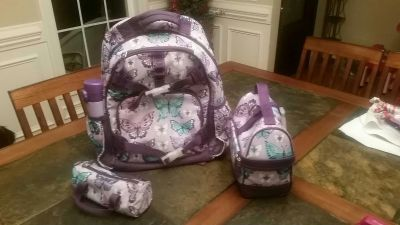 Backpack and accessories