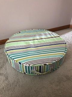 PB teen floor cushion