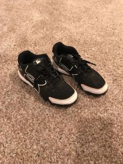 Baseball cleats- Under Armour size 1