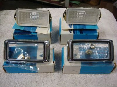 Sell 1969 Ford Mustang Side Marker Lens and Bezels.NOS C9AZ 15A440A C9DZ-15A215C motorcycle in Fresno, California, United States, for US $200.00