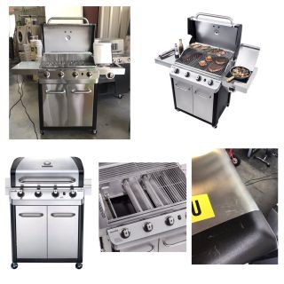 Char-Broil Signature Series 4 Burner Gas Grill **Small scratch **