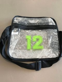 Seahawks Stadium Approved Clear Bag