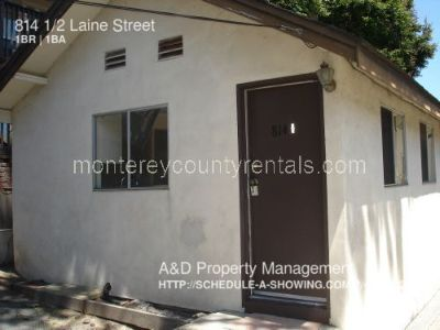 1 bedroom house in New Monterey near DLI and Cannery Row