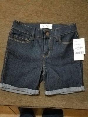 Jessica Simpson girls shorts sz 8 nwt