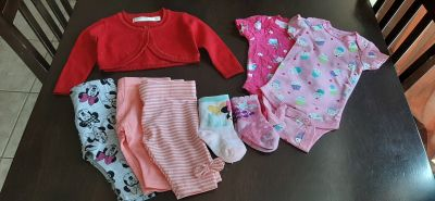 Baby girl clothing Size from 0-3 to 3-6 month