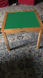 Square LEGO Table converts into regular table
