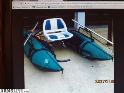 For Sale: New pontoon boat