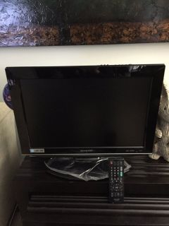 Sharp TV with Built in DVD