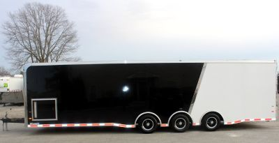 Sharp 2/Tone 32' 2019 Enclosed Race Car Trailer